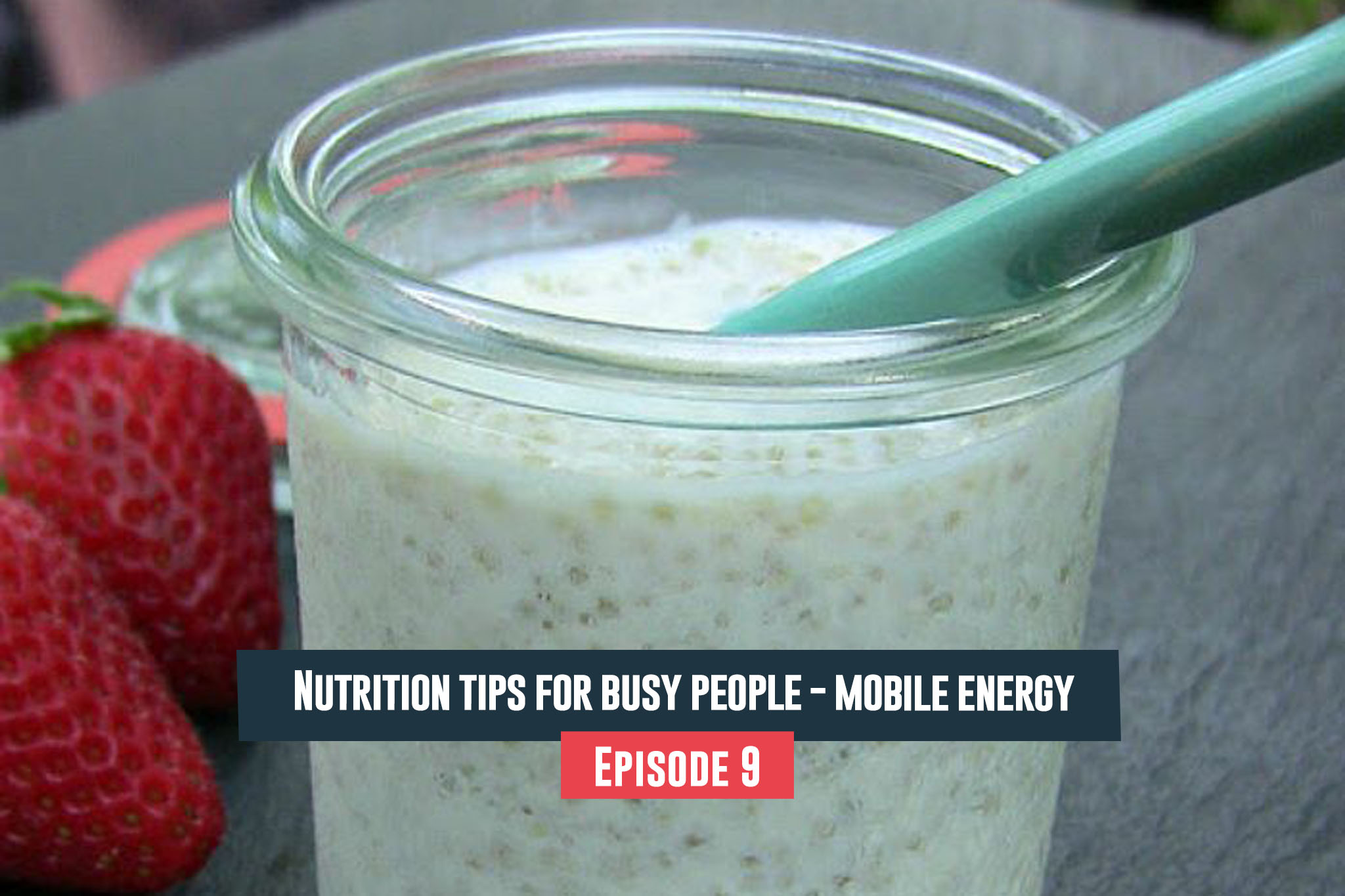 Nutrition tips for busy people