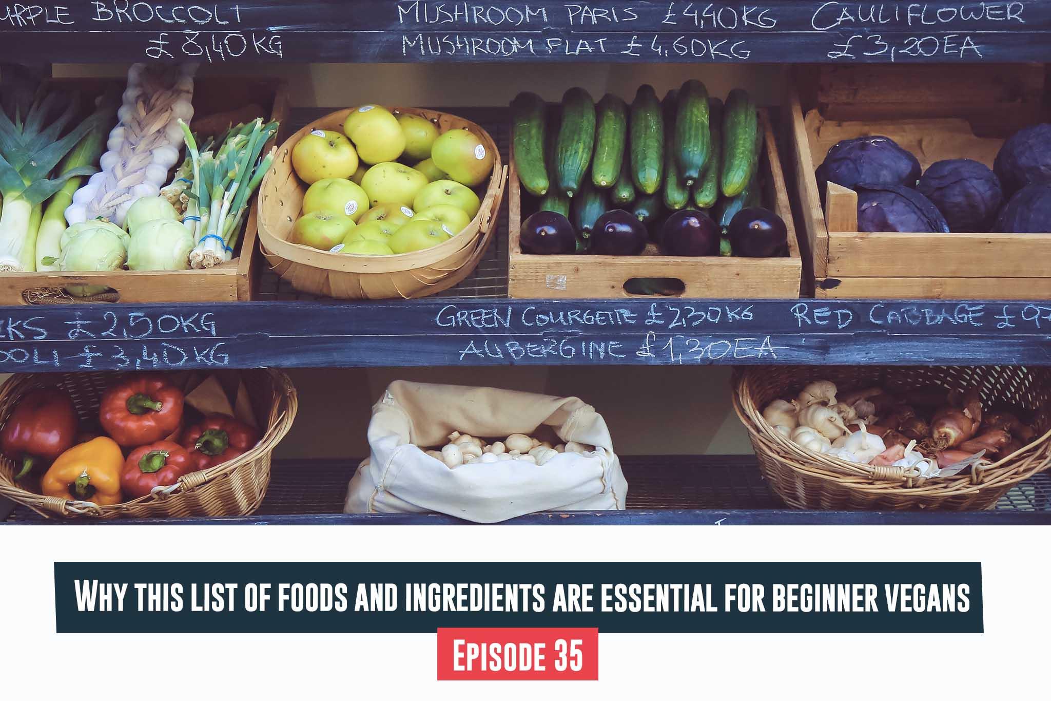 essential for beginner vegans