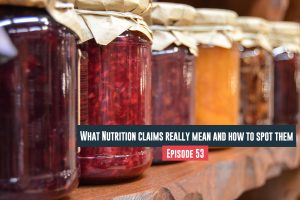 What Nutrition Claims Really Mean