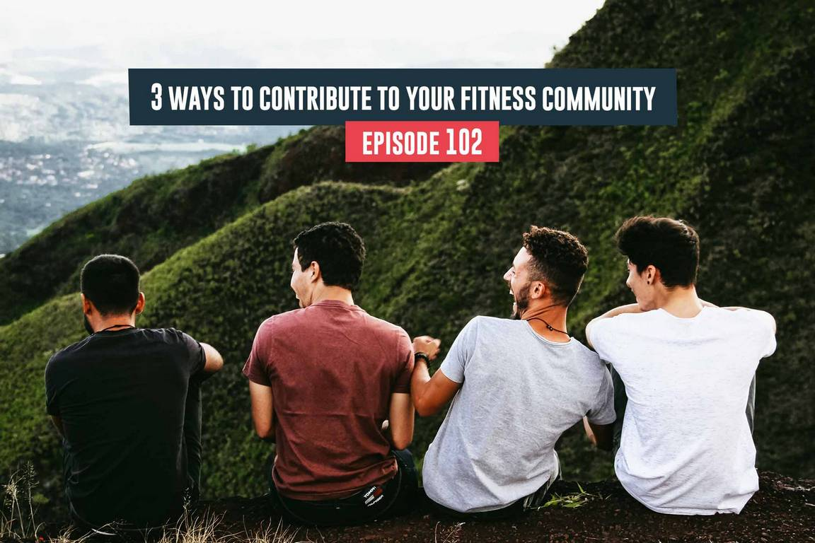 Ways to contribute to your fitness community