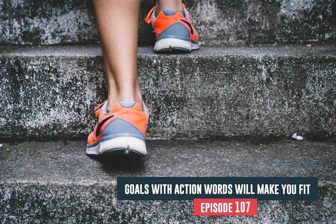 fitness goals with action words