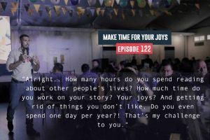 make time for your joys