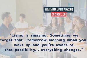 living is amazing